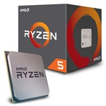 AMD Ryzen 5 2600 3,40GHz Socket AM4 16MB (2600) box processzor