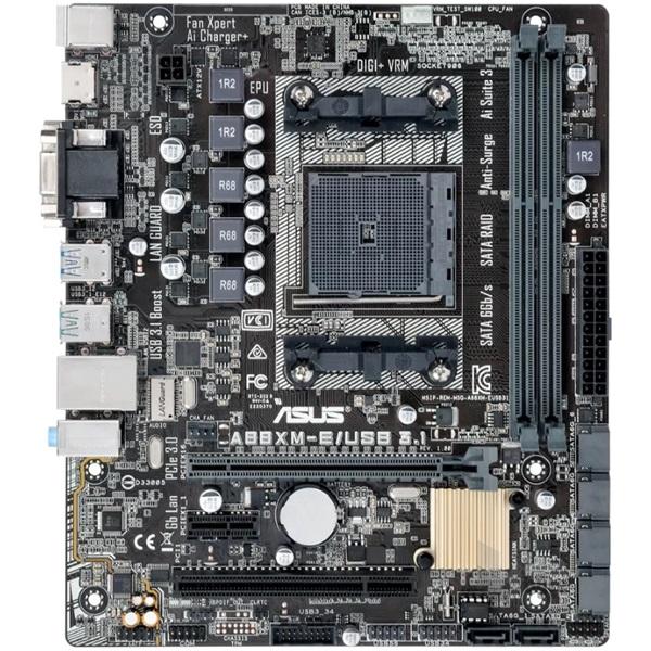 Asus A88XM-E/USB 3.1 AMD A88X SocketFM2+ mATX alaplap