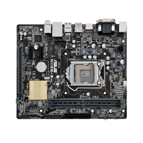 Asus H110M-R/C/SI Intel H110 LGA1151 mATX alaplap