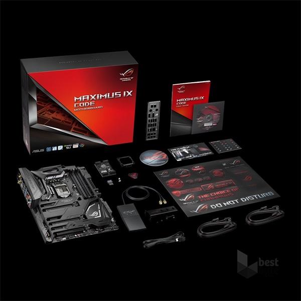 Asus MAXIMUS IX CODE Intel Z270 LGA1151 ATX alaplap