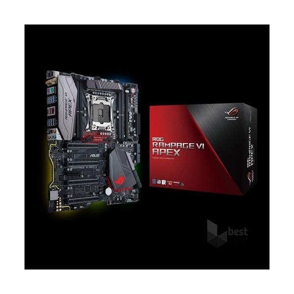 Asus RAMPAGE VI APEX Intel X299 LGA2066 E-ATX alaplap