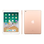 "Apple 9.7"" iPad 6 128 GB Wi-Fi + Cellular (arany)"