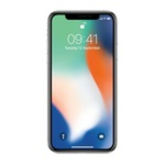 Apple iPhone X 256GB silver (ezüst)