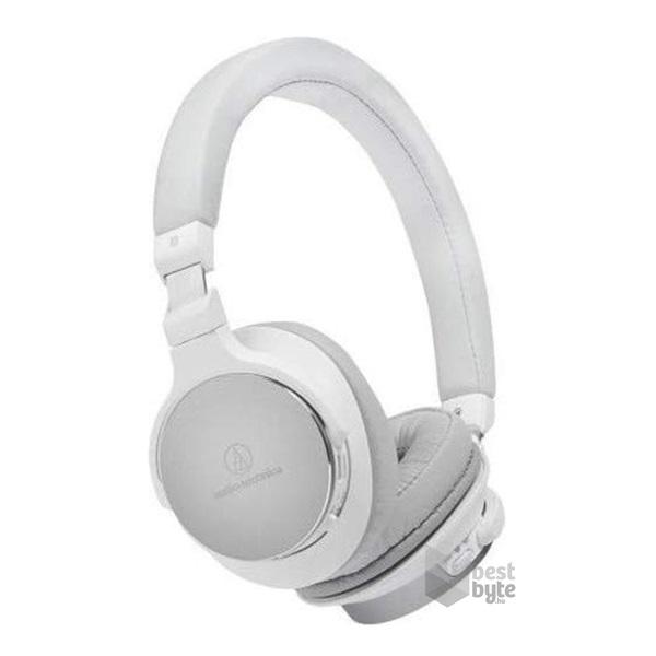 Audio Technica ATH SR5BTWH Hi Res Bluetooth fehér mikrofonos fejhallgató