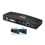 CLUB3D SenseVision USB 3.0 4K Docking Station