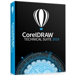 CorelDRAW Technical Suite 2018 ENG ML dobozos szoftver