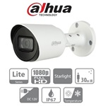 Dahua HAC-HFW1230T kültéri, 2MP, 2,8mm, IR30m, Starlight, 4in1 HD analóg csőkamera