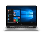 "Dell Inspiron 7386 13,3"" FHD Touch/Intel Core I5 8265U/8GB/256GB/Intel UHD 620/Win10/ezüst 2in1 laptop"