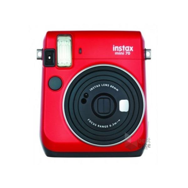 Fujifilm Instax Mini70 piros analóg fényképezőgép