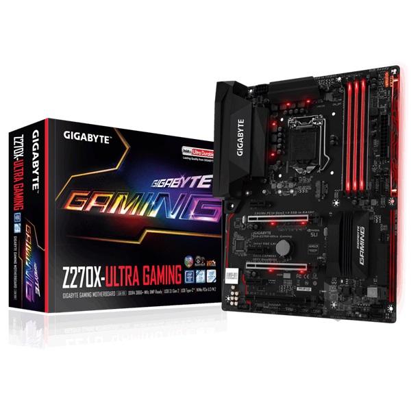 Gigabyte Z270X-ULTRA GAMING Intel Z270 LGA1151 ATX alaplap