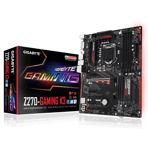 Gigabyte Z270-GAMING K3 Intel Z270 LGA1151 ATX alaplap