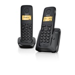 Gigaset A120 Duo fekete dect telefon
