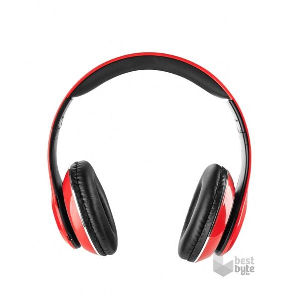 Genius HS-935BT összehajtható piros mikrofonos bluetooth fejhallgató ... c3ee1e69a9