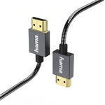 "Hama ""Elite"" High speed HDMI kábel ethernettel, 0,75m"