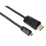 Hama TL High Speed HDMI - Micro HDMI 1,5 méter kábel Ethernettel
