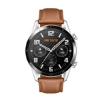 Huawei Watch GT 2 46mm Pebble Brown barna sport okosóra