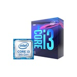 Intel Core i3 3,60GHz LGA1151 6MB (i3-9100F) box processzor