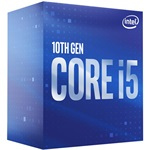 Intel Core i5 2,90GHz LGA1200 12MB (i5-10400F) box processzor