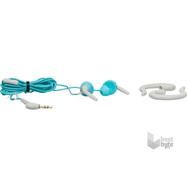 JBL FOCUS 100TEL türkiz/fehér sport fülhallgató