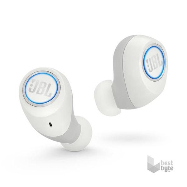 JBL FREE WHT True Wireless Bluetooth vezeték nélküli fehér fülhallgató 01ad0e9e9a