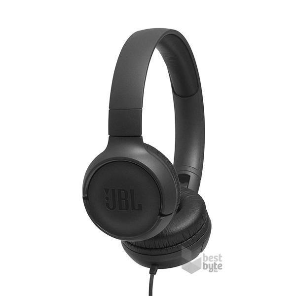 JBL T500BLU kék fejhallgató headset - BestByte.hu e8045a1b5a