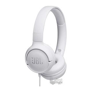 JBL T500WHT fehér fejhallgató headset - BestByte.hu 0eba641dee