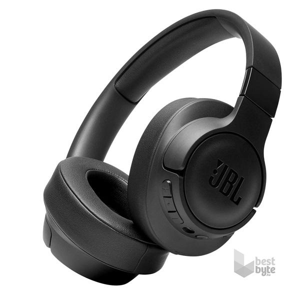 JBL Tune 750BTNC Bluetooth aktív zajszűrős fekete fejhallgató