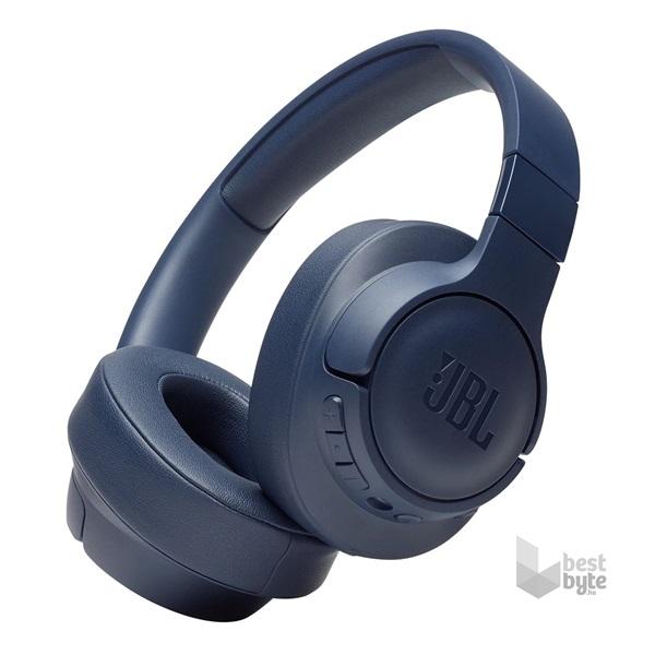 JBL Tune 750BTNC Bluetooth aktív zajszűrős kék fejhallgató