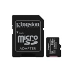 Kingston 256GB SD micro Canvas Select Plus (SDXC Class 10 A1) (SDCS2/256GB) memória kártya adapterrel