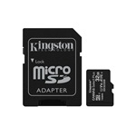 Kingston 32GB SD micro Canvas Select Plus (SDHC Class 10 A1) (SDCS2/32GB) memória kártya adapterrel