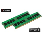 Kingston 8GB/2400MHz DDR-4 1Rx16 (Kit! 2db 4GB) (KVR24N17S6K2/8) memória