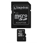Kingston 8GB SD micro (SDHC Class 4) (SDC4/8GB) memória kártya adapterrel