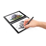 "LENOVO YogaBook 10,1""FHD IPS Atom X5 4+64GB Wi-Fi BT fekete Win10Pro tablet"