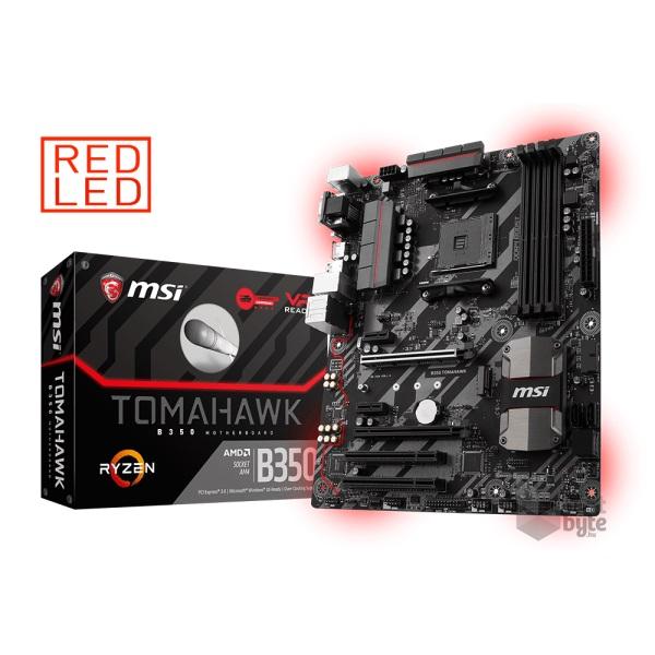 MSI B350 TOMAHAWK AMD B350 SocketAM4 ATX alaplap