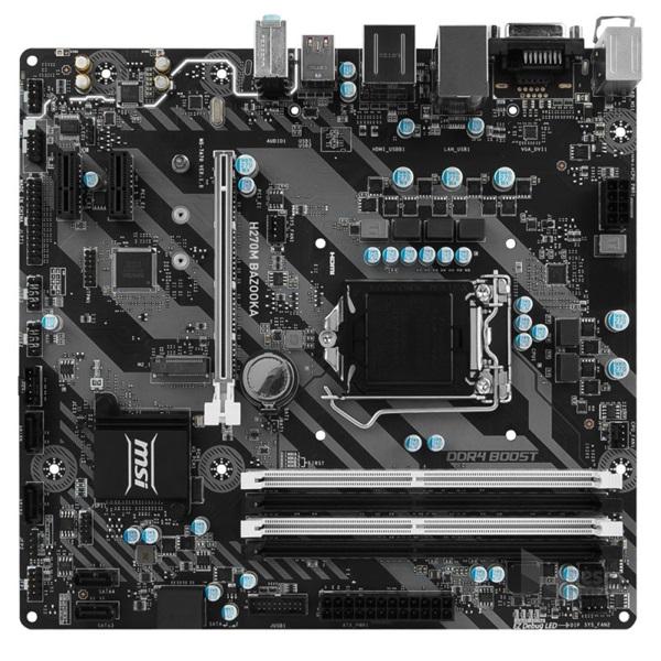 MSI H270M BAZOOKA Intel H270 LGA1151 mATX alaplap