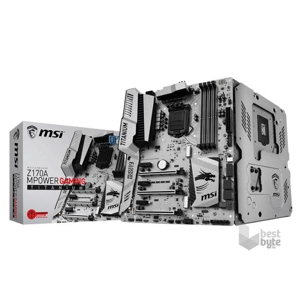 MSI Z170A MPOWER GAMING TITANUM Intel Z170 LGA1151 ATX alaplap