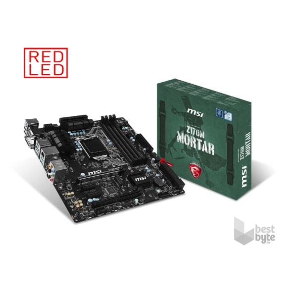 MSI Z170M MORTAR Intel Z170 LGA1151 mATX alaplap