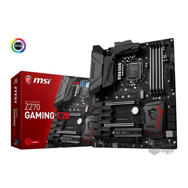 MSI Z270 GAMING M5 Intel Z270 LGA1151 ATX alaplap