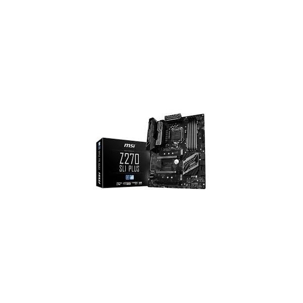 MSI Z270 SLI PLUS Intel Z270 LGA1151 ATX alaplap
