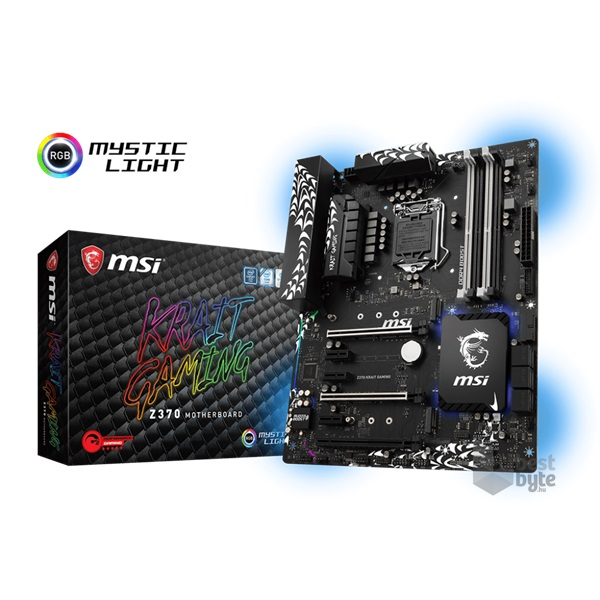 MSI Z370 KRAIT GAMING Intel Z370 LGA1151 ATX alaplap