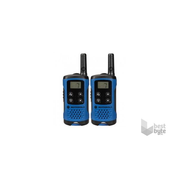 Motorola TLKR T41 walkie talkie / kék (2db)