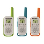 Motorola Talkabout T42 Triple Pack walkie talkie (3db)