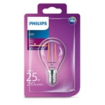 Philips LED izzó Classic Luster 2W E14 250lm 2700K