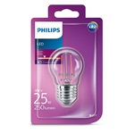 Philips LED izzó Classic Luster 2W E27 250lm 2700K