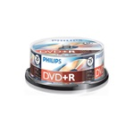 Philips DVD-R 4,7 Gb Írható DVD 25db/henger