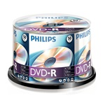 Philips DVD-R 4,7 Gb Írható DVD  50/henger