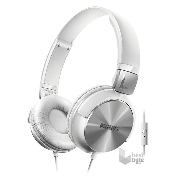 Philips SHL3165WT 00 fehér mikrofonos fejhallgató d056b5855a