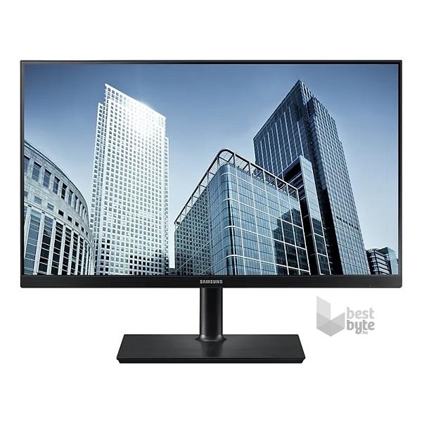"""Samsung 23,8"""" S24H850QFU LED PLS WQHD HDMI Display port fekete monitor"""