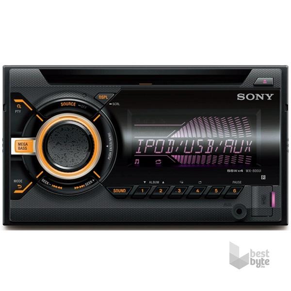 Sony WX800UI USB/CD/MP3 lejátszó LCD-s autóhifi fejegység