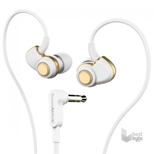 SoundMAGIC PL30+ In-Ear fehér-arany fülhallgató